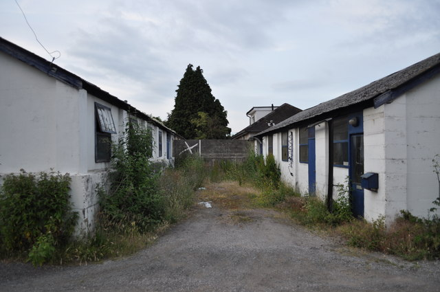 Former prisoner of war camp huts
