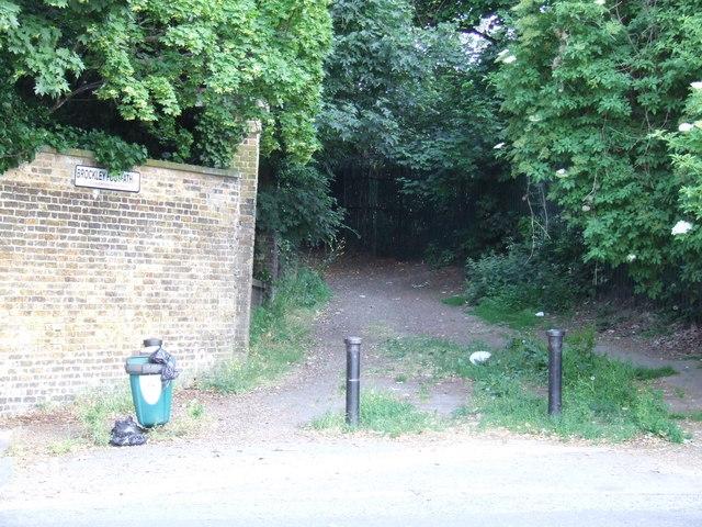 Brockley Footpath