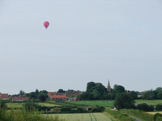 Balloon over Kelby