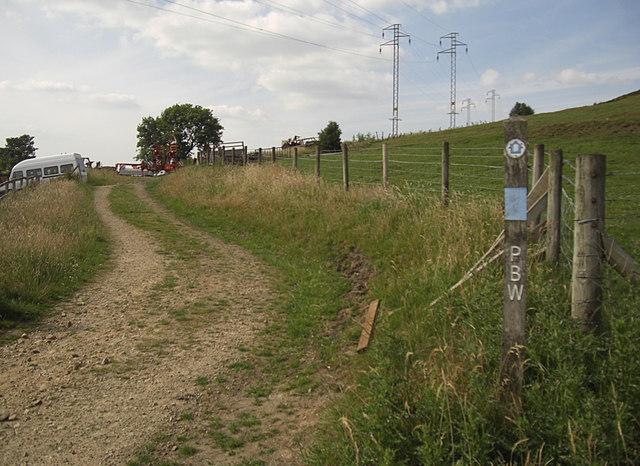 Pennine Bridleway near Castle Farm