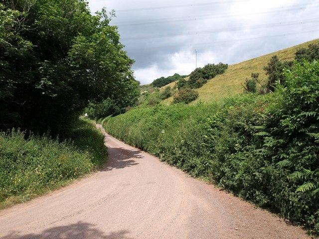 Lane at Hagley Bridge