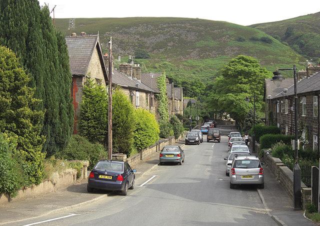 Pennine Bridleway, Castle Lane, Carrbrook
