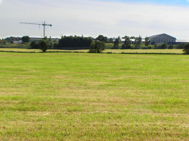 View Towards Birch Industrial Estate