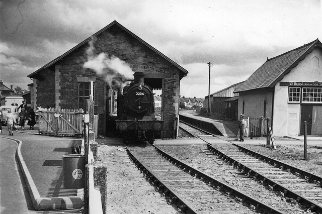 Burnham-on-Sea Station and Loco Shed