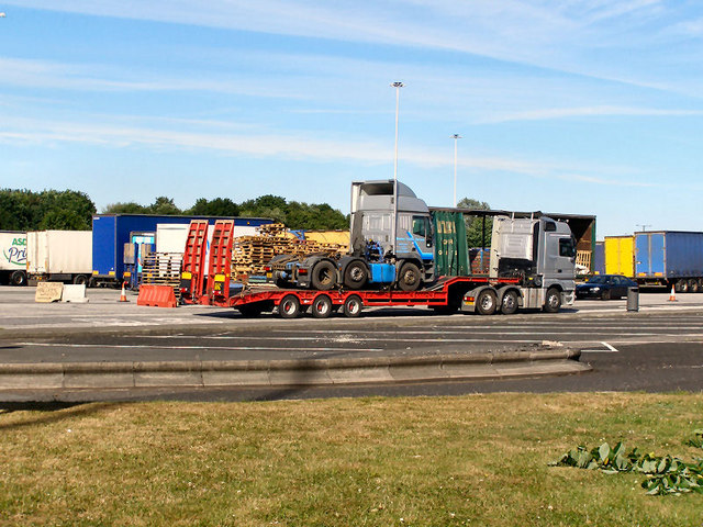 Birch Services, Eastbound  Lorry Park