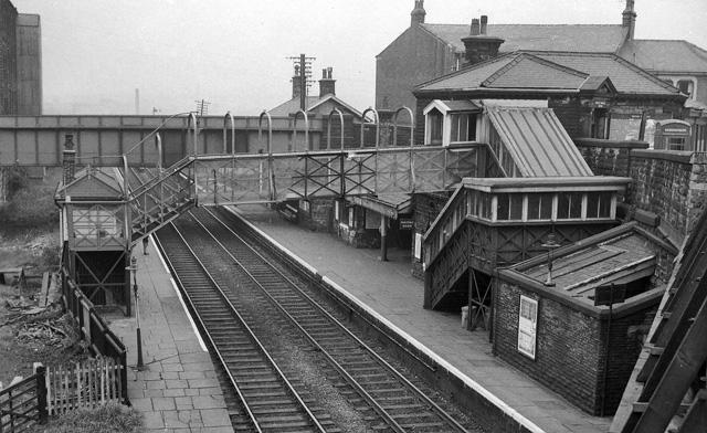 Burnley Barracks Station