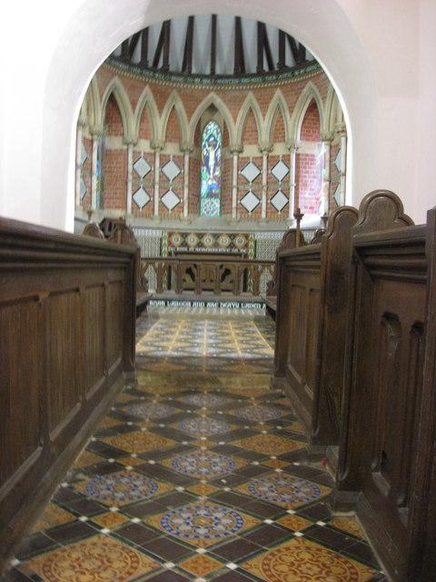 St. Martins church - Walking down the aisle