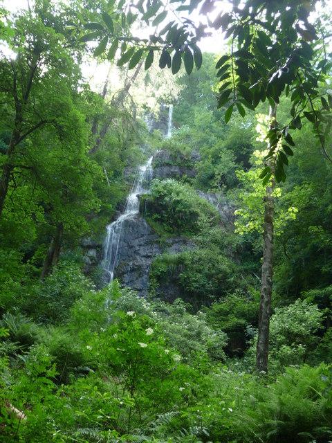Canonteign Falls : Canonteign Waterfall