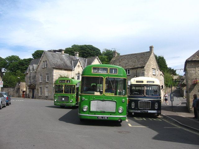 Buses in the Square