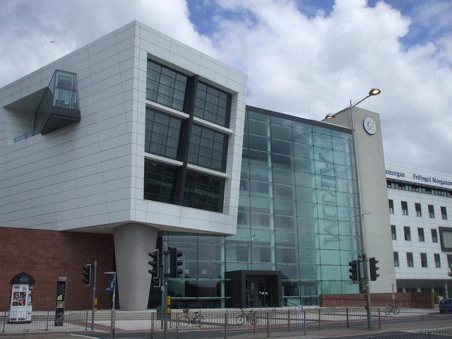 University of Glamorgan,  ATRiuM campus, Cardiff, main entrance