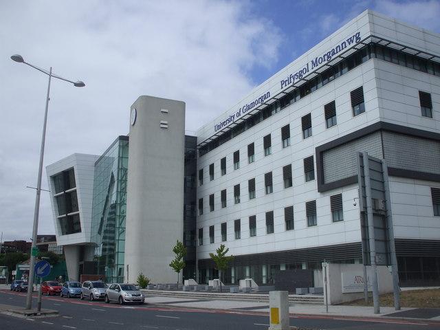 University of Glamorgan, Adam St, Cardiff