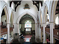 TQ2471 : St Mary's church, Wimbledon: interior by Stephen Craven