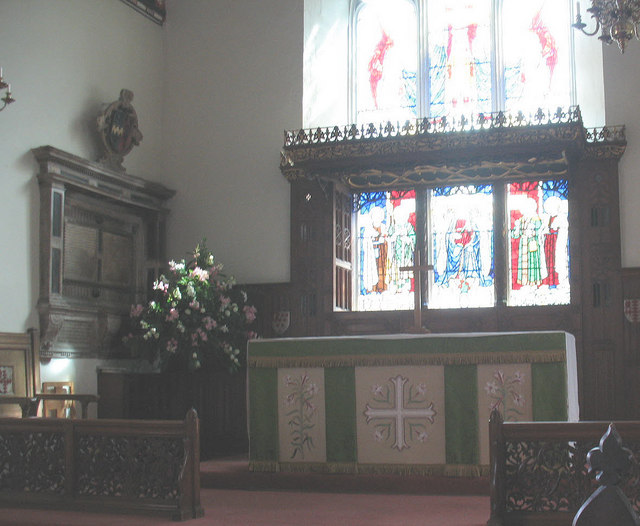 St Mary's church, Wimbledon: altar