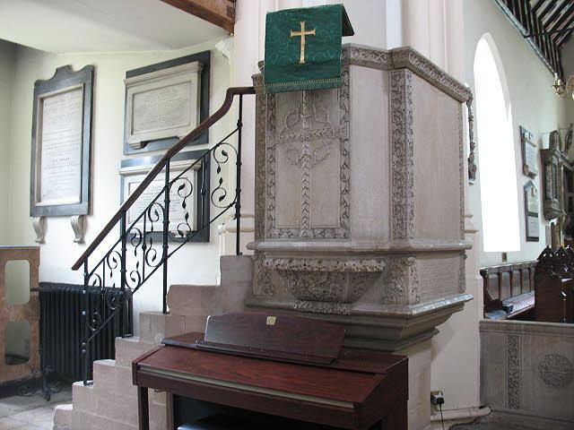 St Mary's church, Wimbledon: pulpit