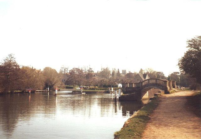 Iffley Lock, Oxford