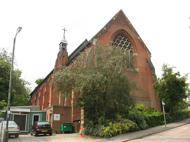 St John the Baptist church and hall, Wimbledon