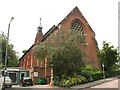 TQ2470 : St John the Baptist church and hall, Wimbledon by Stephen Craven