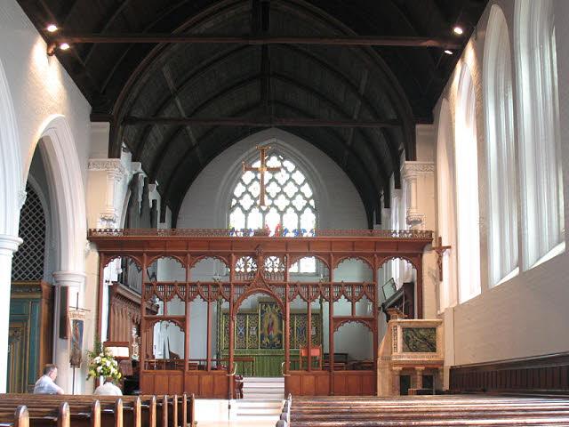 St John's church: interior