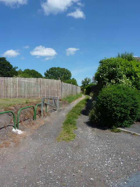 Footpath to High Whitaker Farm