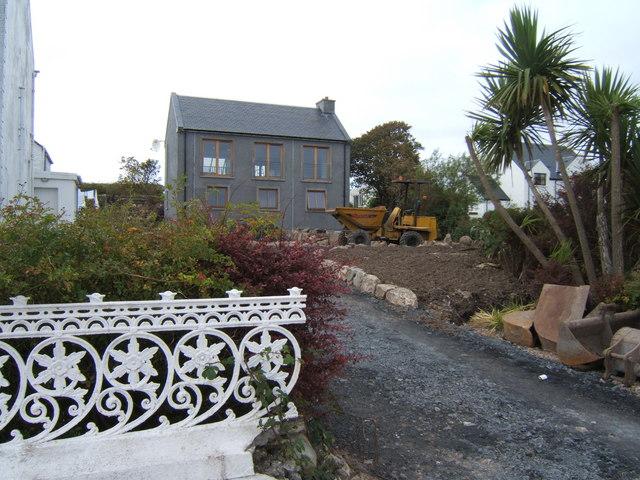 New build in Bruichladdich