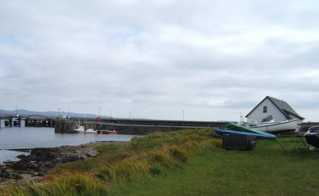 Boats at the Pier, Bruichladdich