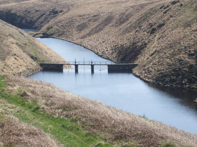 Booth Dean Upper Reservoir Weir