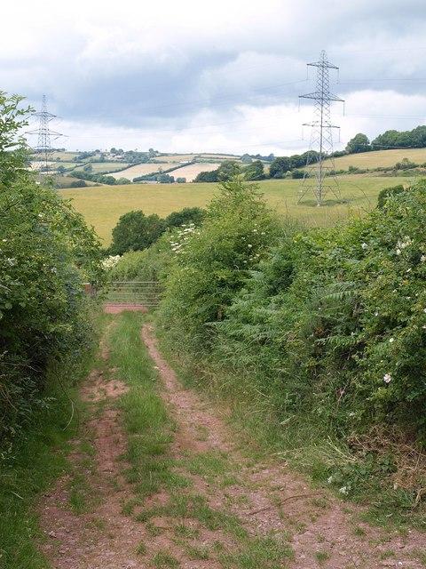 Track near Gipsy Cross