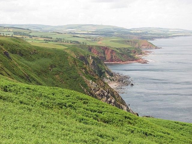 Berwickshire coast