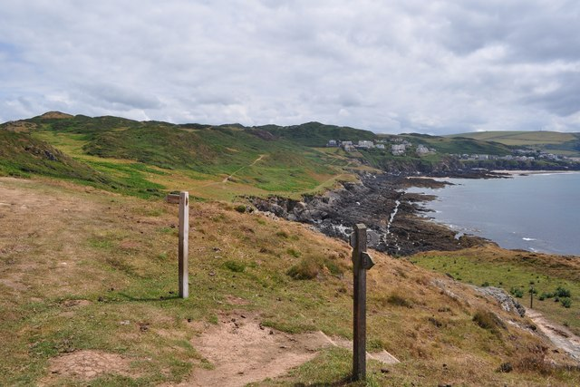 One of a number of branches off from the South West Coast Path
