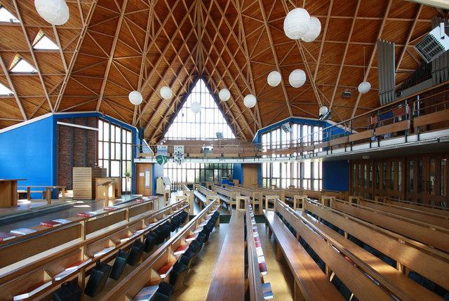 St Barnabas, Rushet Road, St Paul's Cray, Kent - Interior