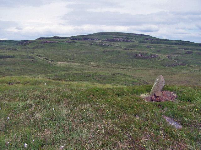 Moorland towards Beinn  Bhreac