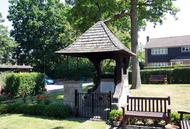St Paul, Crofton Road, Orpington, Kent  - Lych gate