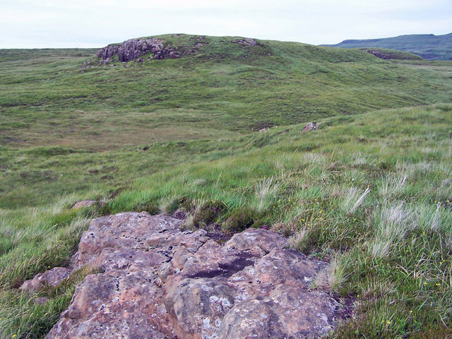 Craggy lumps on the moor