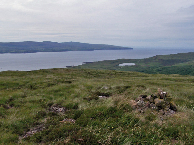 North west from Creag a' Mhill