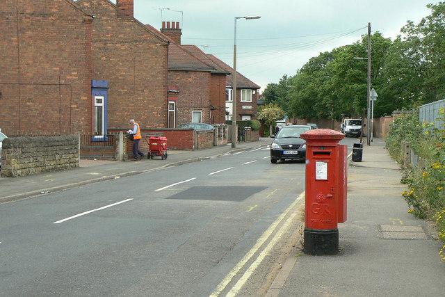 Station Road postbox Ref: NG10 12