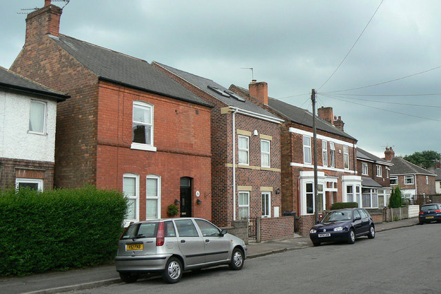 Houses on Albion Road