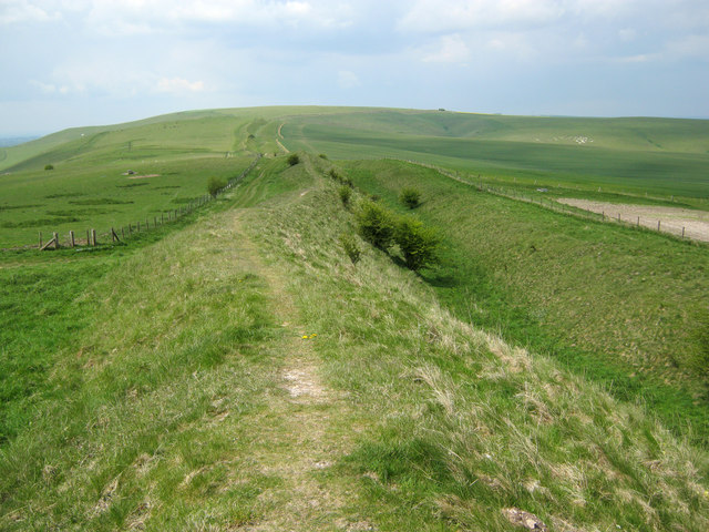 The Wansdyke on Tan Hill