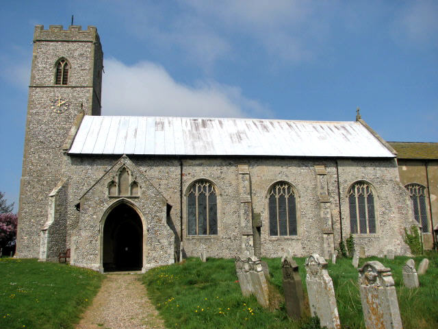 The church of SS Peter and Paul in Knapton