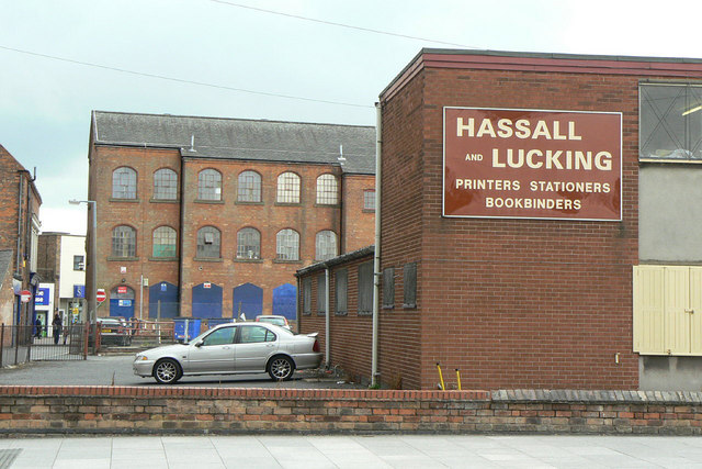 Industrial buildings in Long Eaton