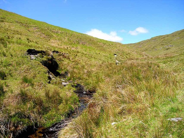 Upper reaches of the Afon Llwyd