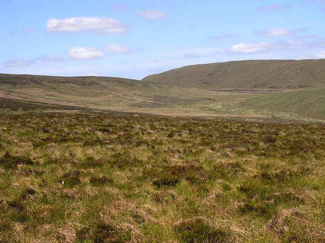Looking across the Nant Esgairgoelen