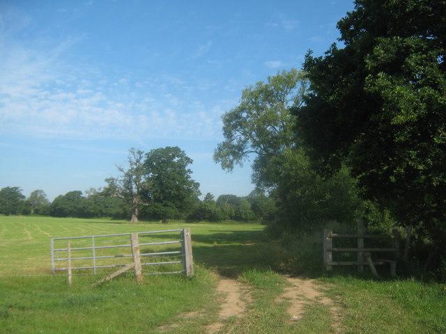Stile and Gate near River Eden
