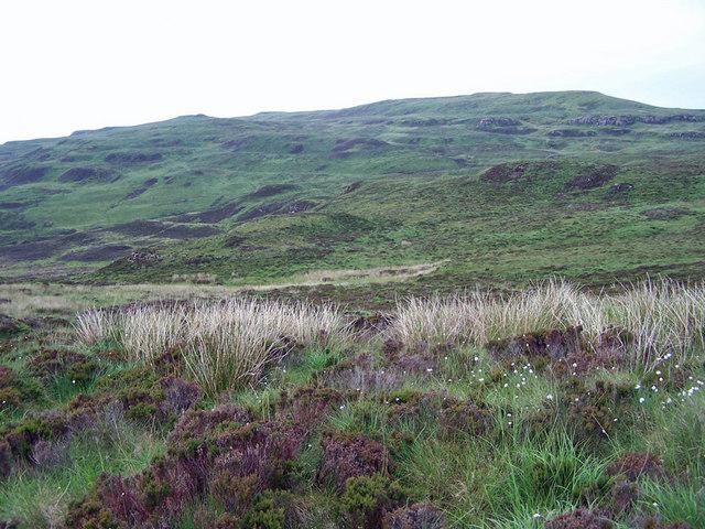 Glen Suardal moorland