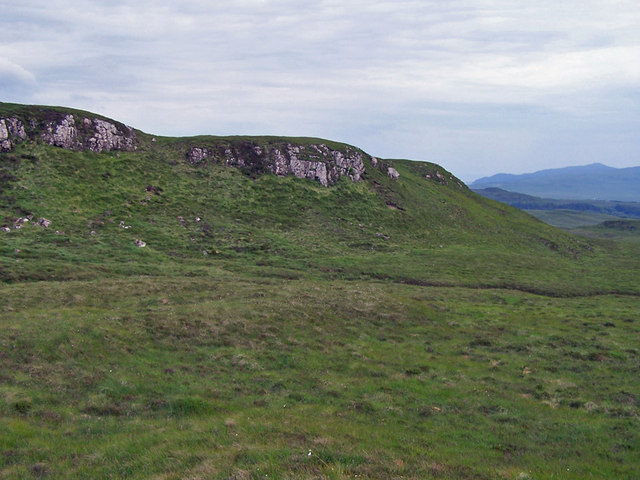 Craggy outcrops on the moor