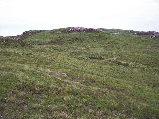 Lumpy moorland