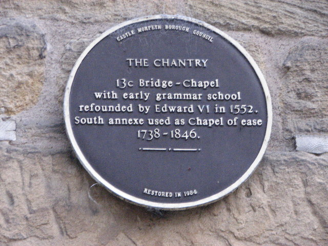 Information plaque, The Chantry