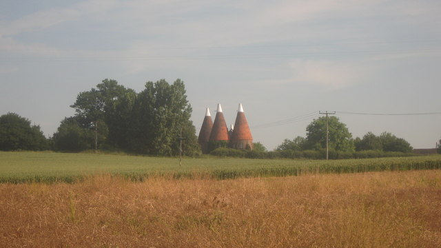 View of Larkin's Oast House