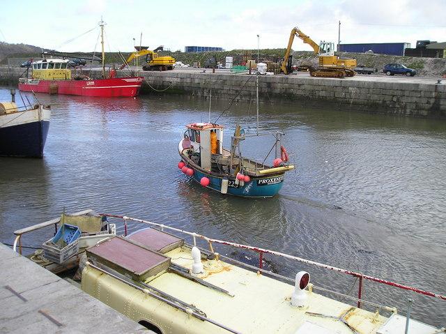 Inner basin Port Penrhyn