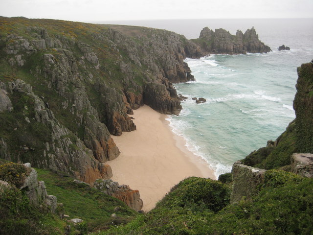 View to Treryn Dinas headland