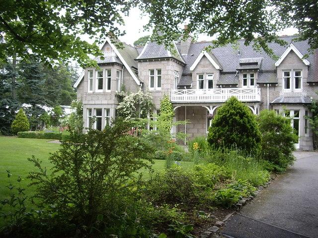 Garden of Struan Hall, Aboyne
